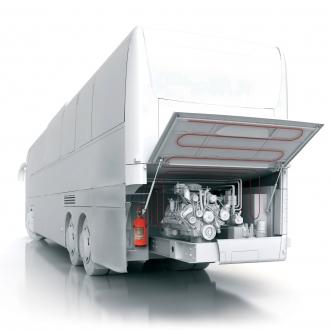 BUS VIPER - automatický hasicí systém do autobusů 2 kg
