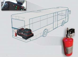 BUS VIPER - automatický hasicí systém do autobusů 4 kg