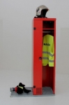 Skříňky pro hasiče a záchranné složky