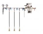 Vysokotlaké a nízkotlaké zkušební zařízení HND-W-3