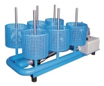 Stacionární sušicí zařízení se šesti přípojkami TR-K-6