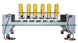 Sušicí zařízení na 12 lahví, model TR-K-12