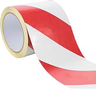 Samolepící páska - bílá / červená