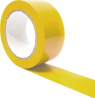 Výstražná samolepící páska - žlutá