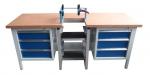 Pracovní stůl s manuálním upínacím zařízením WB-M